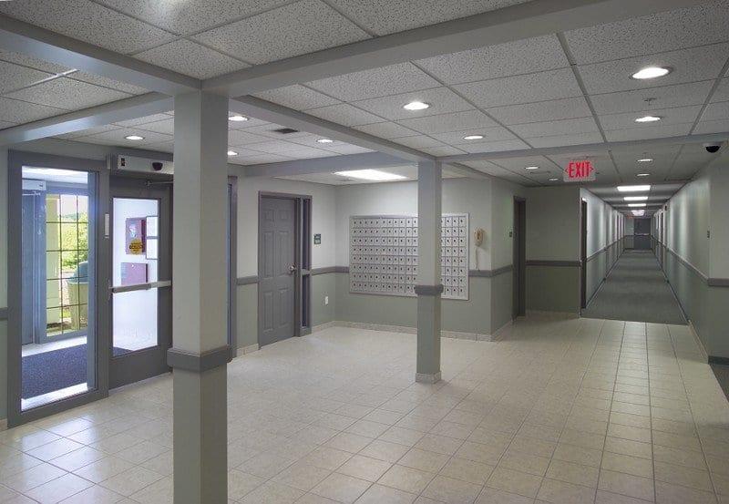 SNHU Hampton and Windsor Halls Lobby Mail Boxes 3922