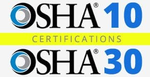 OSHA-10-30 Construction Companies Boston MA