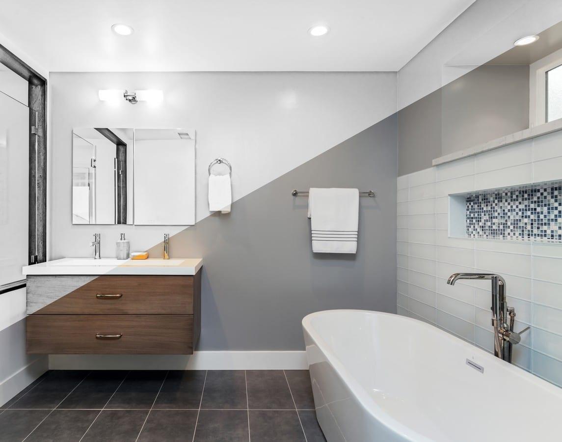 Bathroom design Build Boston
